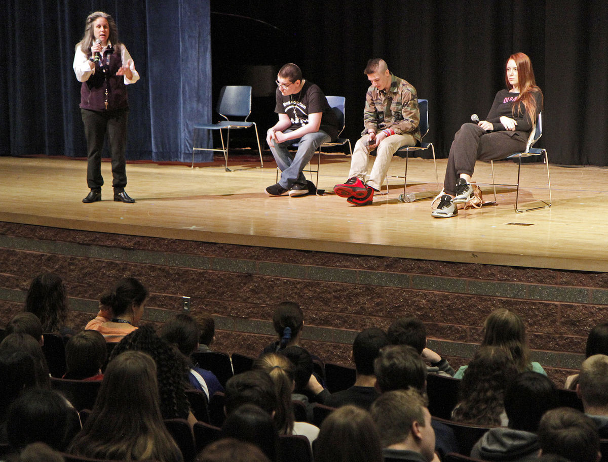 Recovery High School Students Share Experiences With Addiction